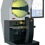 Projecteur de profil horizontal ecran de 400 mm