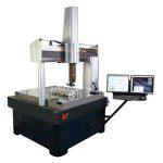 Machine de mesure tridimensionnelle grande capacité vidéo et palpeur