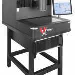 Meuble support avec Pc pour Machine de mesure optique 2D VµMaster