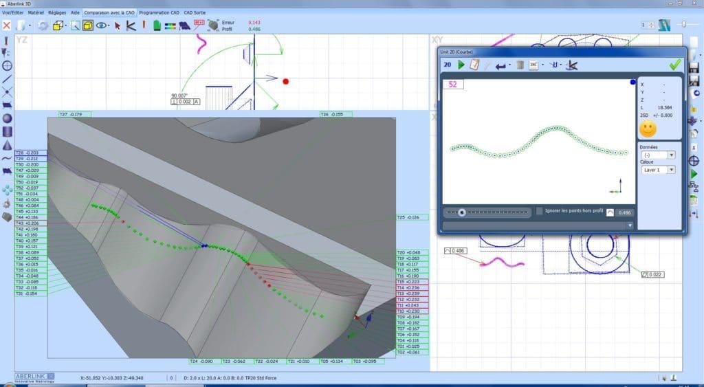 Logiciel ABERLINK 3D Surfacique